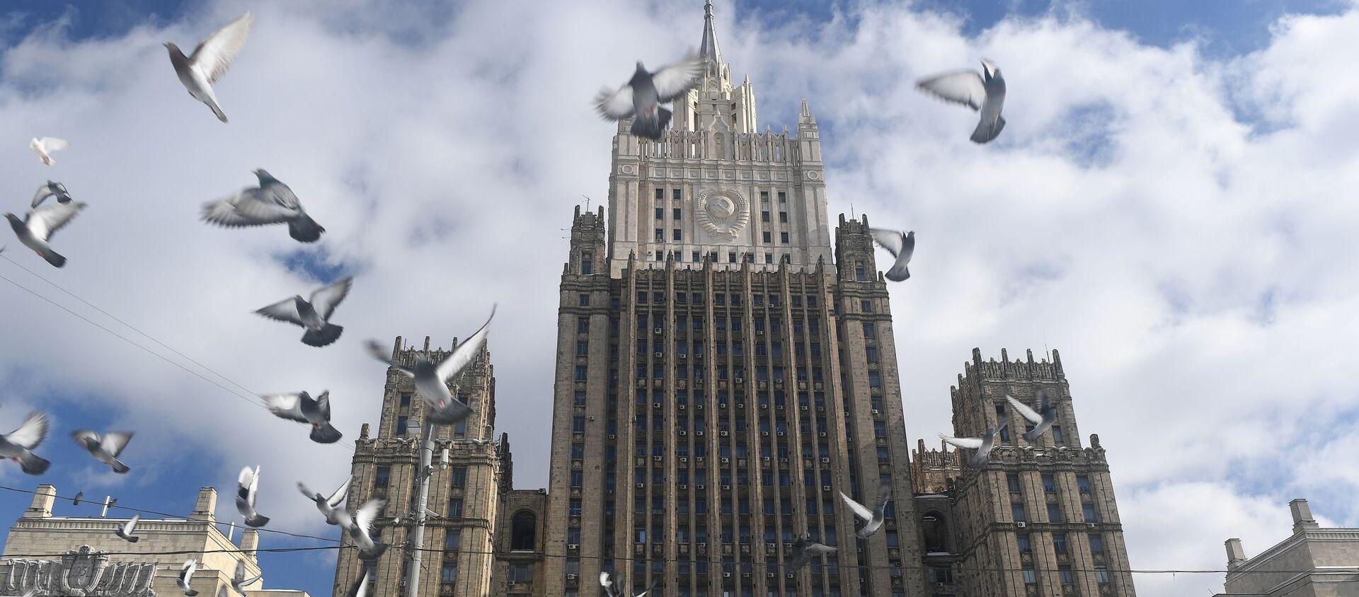 Gmach Ministerstwa Spraw Zagranicznych Rosji w Moskwie - Sputnik Polska, 1920, 02.04.2021