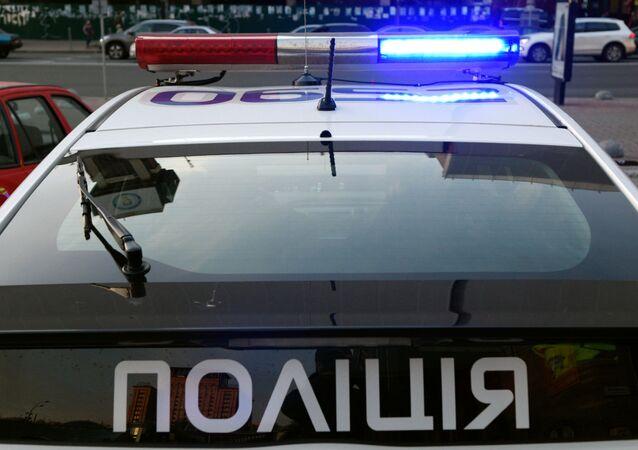 Policja na Ukrainie