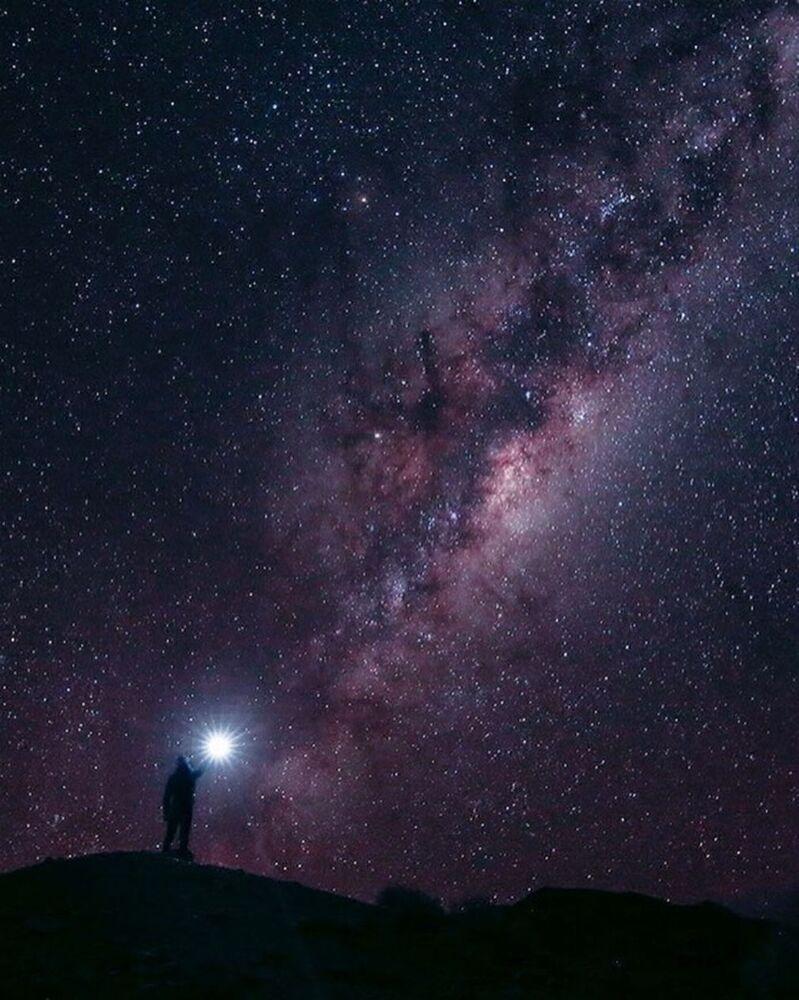 Gwieździste niebo w Republice Południowej Afryki - fotografia dla projektu Jak daleko od domu