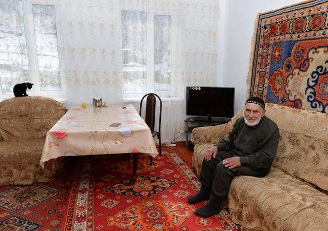 Najstarszy mieszkaniec Rosji Ilijew Appaz Lorosowicz, ur. w 1896 roku, Inguszetia