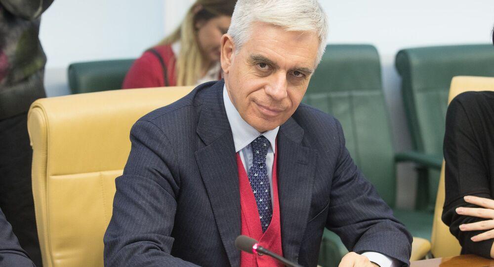 Deputowany Parlamentu Europejskiego Stefano Maullu