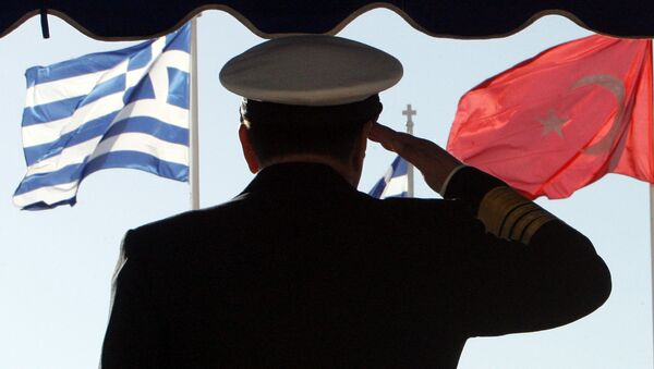 Turcja prowadzi wojnę hybrydową z Grecją - Sputnik Polska