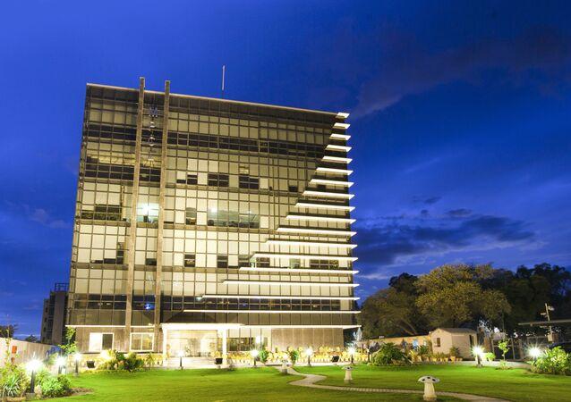 Siedziba pakistańskiej spółki energetycznej Mari Petroleum Company Limited