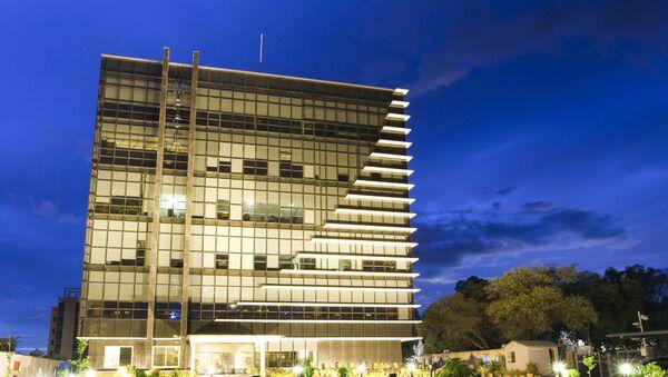 Siedziba pakistańskiej spółki energetycznej Mari Petroleum Company Limited - Sputnik Polska