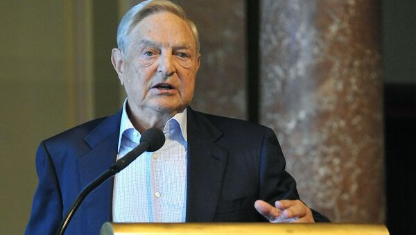 Amerykański miliarder węgierskiego pochodzenia George Soros - Sputnik Polska