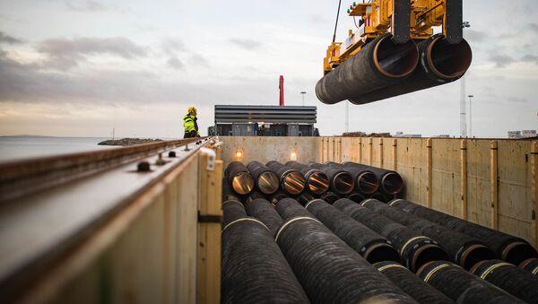 Rury do Nord Stream 2, Niemcy - Sputnik Polska