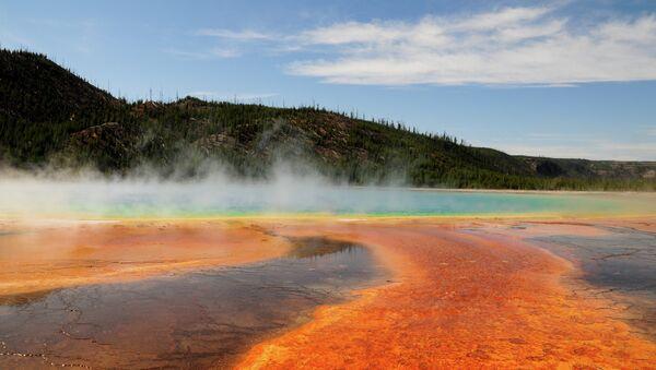 Park Yellowstone, Wyoming - Sputnik Polska