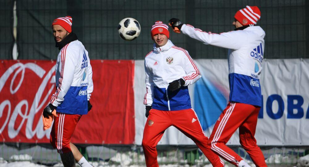Piłkarze reprezentacji Rosji w piłce nożnej