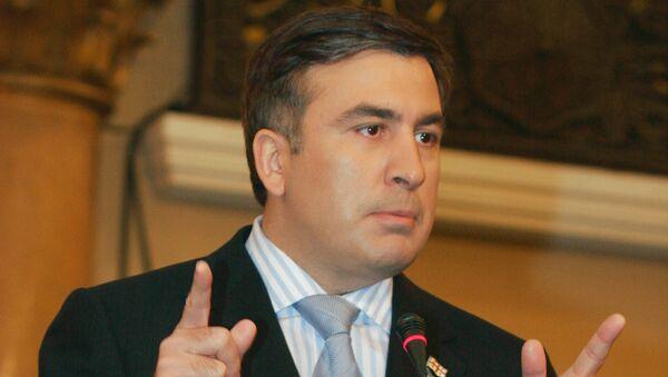 Gubernator obwodu odeskiego Michaił Saakaszwili - Sputnik Polska