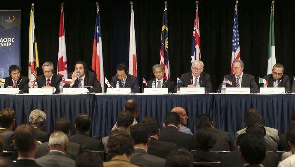 Spotkanie przedstawicieli krajów członkowskich Partnerstwa Transpacyficznego w Sidney - Sputnik Polska