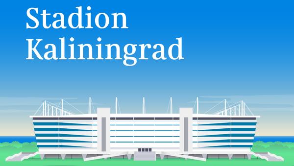 Stadion Kaliningrad (Arena Baltika) - Sputnik Polska