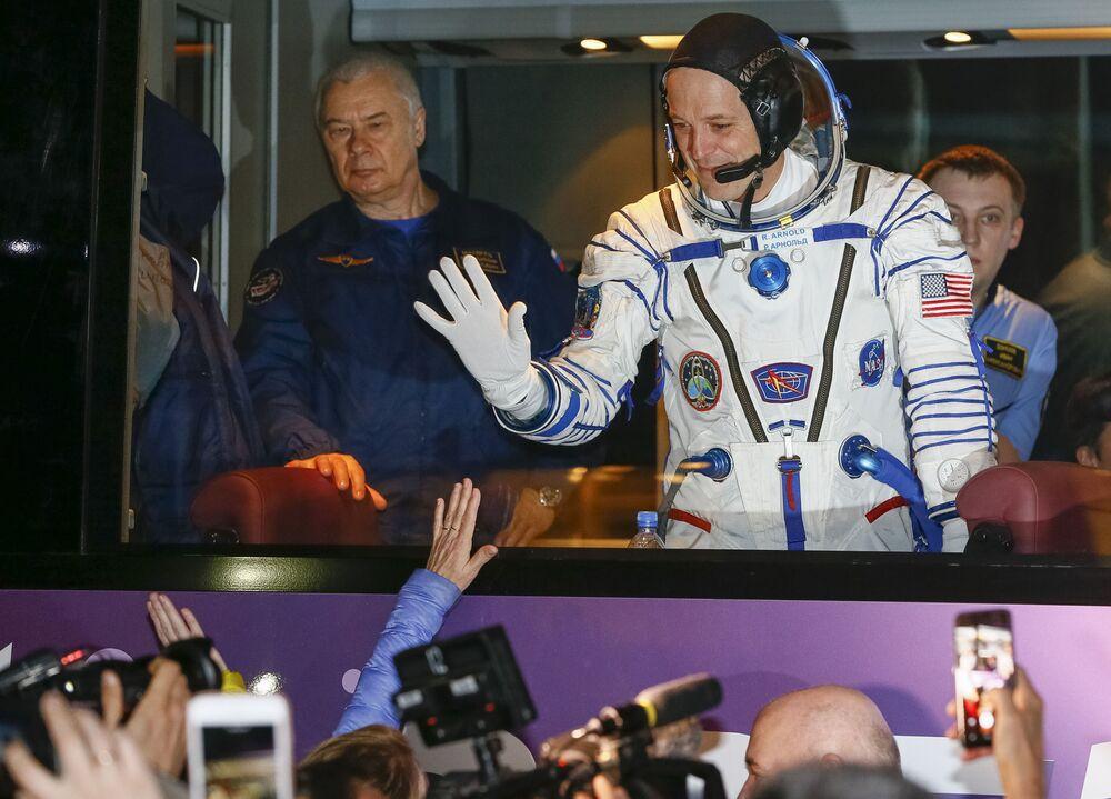 Amerykański astronauta Richard Arnold