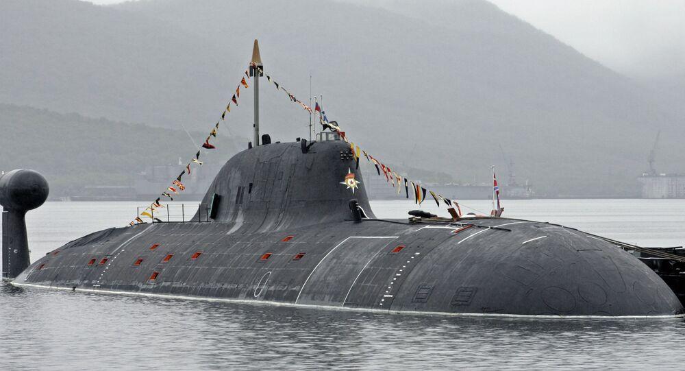 """Rosyjski okręt podwodny projektu 971 """"Szczuka-B"""""""