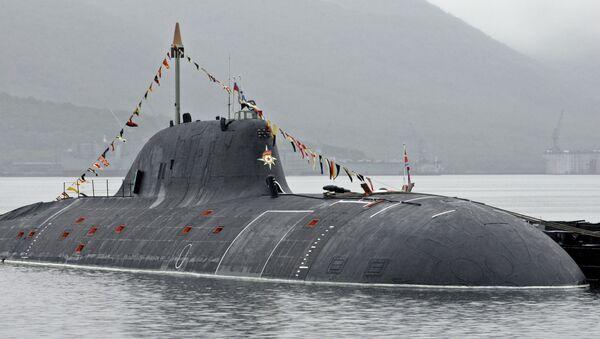 """Rosyjski okręt podwodny projektu 971 """"Szczuka-B"""" - Sputnik Polska"""