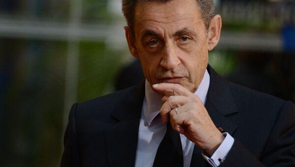 Były prezydent Francji Nicolas Sarkozy - Sputnik Polska