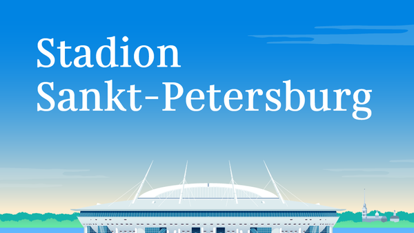 Stadion Sankt-Petersburg - Sputnik Polska