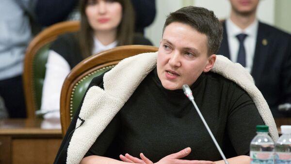 Pozafrakcyjna deputowana Nadieżda Sawczenko - Sputnik Polska