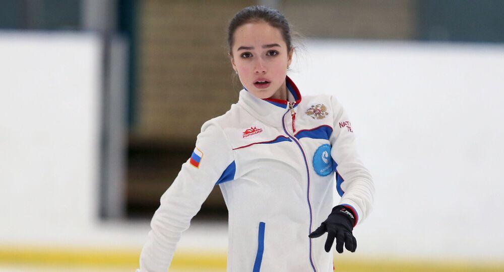 Rosyjska łyżwiarka Alina Zagitowa