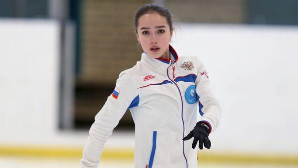 Rosyjska łyżwiarka Alina Zagitowa - Sputnik Polska