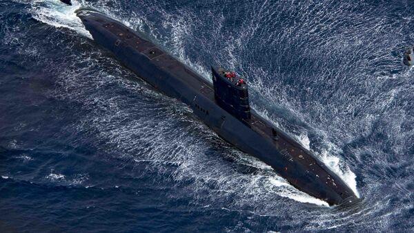 "Brytyjski okręt podwodny ""Trenchant"" - Sputnik Polska"