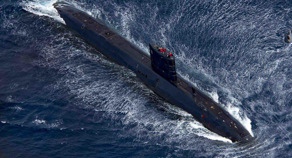 """Brytyjski okręt podwodny """"Trenchant"""""""