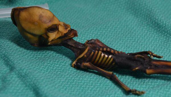 Humanoid znaleziony w 2003 roku na pustyni Atakama w Chile - Sputnik Polska