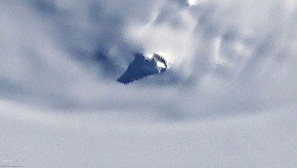 Obiekt odkryty na mapie Antarktydy w Google Earth - Sputnik Polska