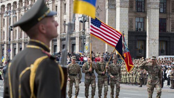 Dzień Niezależności w Kijowie - Sputnik Polska