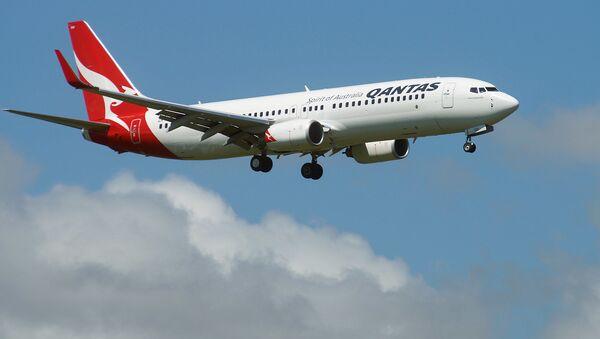 Boeing 787-9 Dreamliner australijskich linii lotniczych Qantas - Sputnik Polska