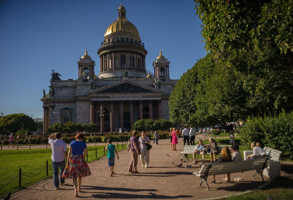 Sobór św. Izaaka w Petersburgu