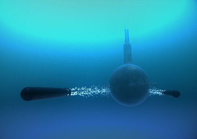 Wystrzelenie torped przez okręt podwodny