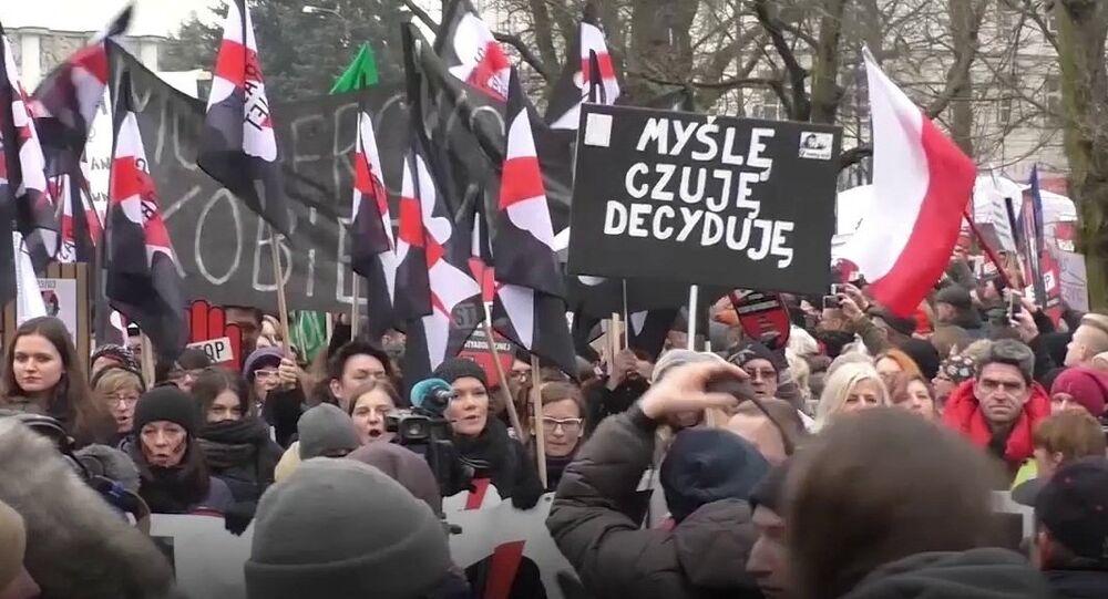 """""""Czarny piątek w Warszawie"""