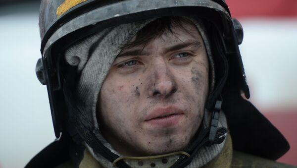 Kemerowo: pożar w centrum handlowym - Sputnik Polska