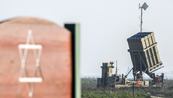 System taktyczny obrony przeciwlotniczej Żelazna Kopuła izraelskiej armii - Sputnik Polska