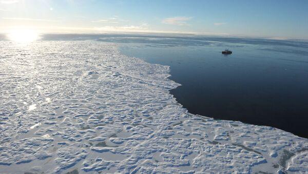 Lodołamacz w kanadyjskiej Arktyce - Sputnik Polska