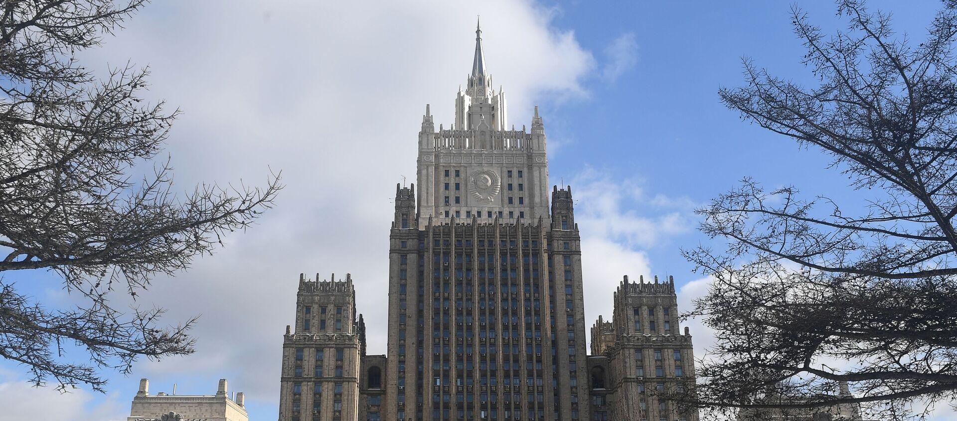 Gmach rosyjskiego ministerstwa spraw zagranicznych w Moskwie - Sputnik Polska, 1920, 23.12.2020