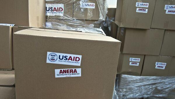 Pomoc humanitarna od Amerykańskiej Agencji Rozwoju Międzynarodowego USAID - Sputnik Polska