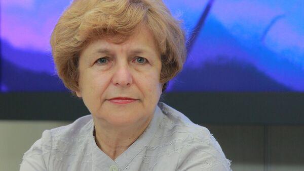Była eurodeputowana z Łotwy Tatiana Żdanok - Sputnik Polska