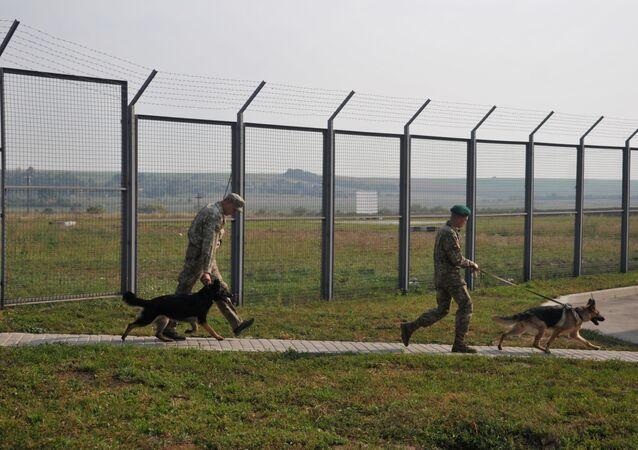 Odcinek ukraińsko-polskiej granicy