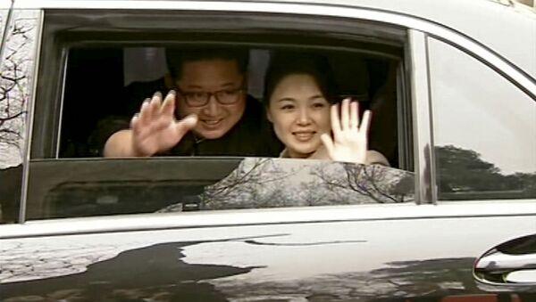 Przywódca KRLD Kim Dzong Un z wizytą w Chinach - Sputnik Polska