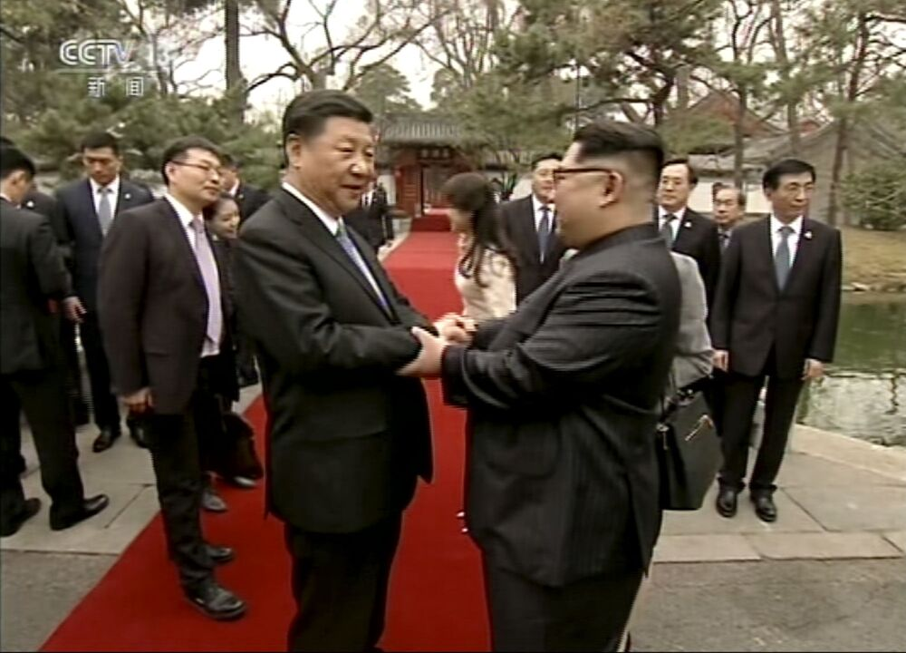 Przywódca KRLD Kim Dzong Un z wizytą w Chinach