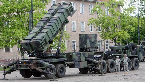 Baza wojskowa w Morągu, w której jest rozmieszczona bateria amerykańskich zestawów obrony przeciwlotniczej Patriot - Sputnik Polska