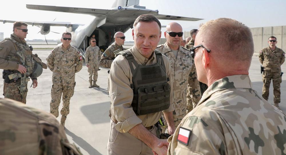 Andrzej Duda z wizytą w Afganistanie