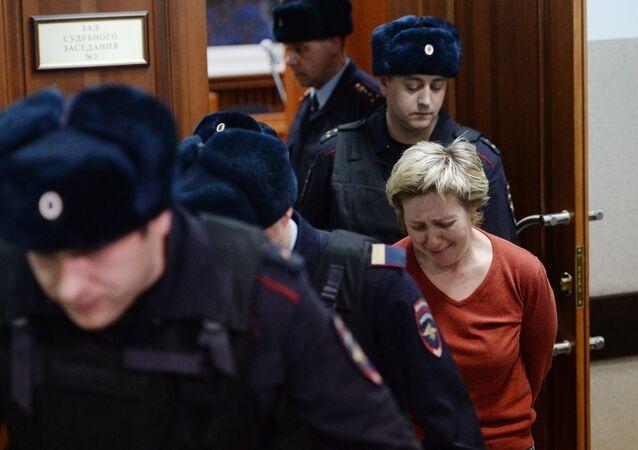 Dyrektorka generalna firmy zarządzającej centrum handlowego Zimniaja Wisznia Kemerowo Nadieżdza Suddenok w Zawodzkim Sądzie Rejonowym Kemerowa