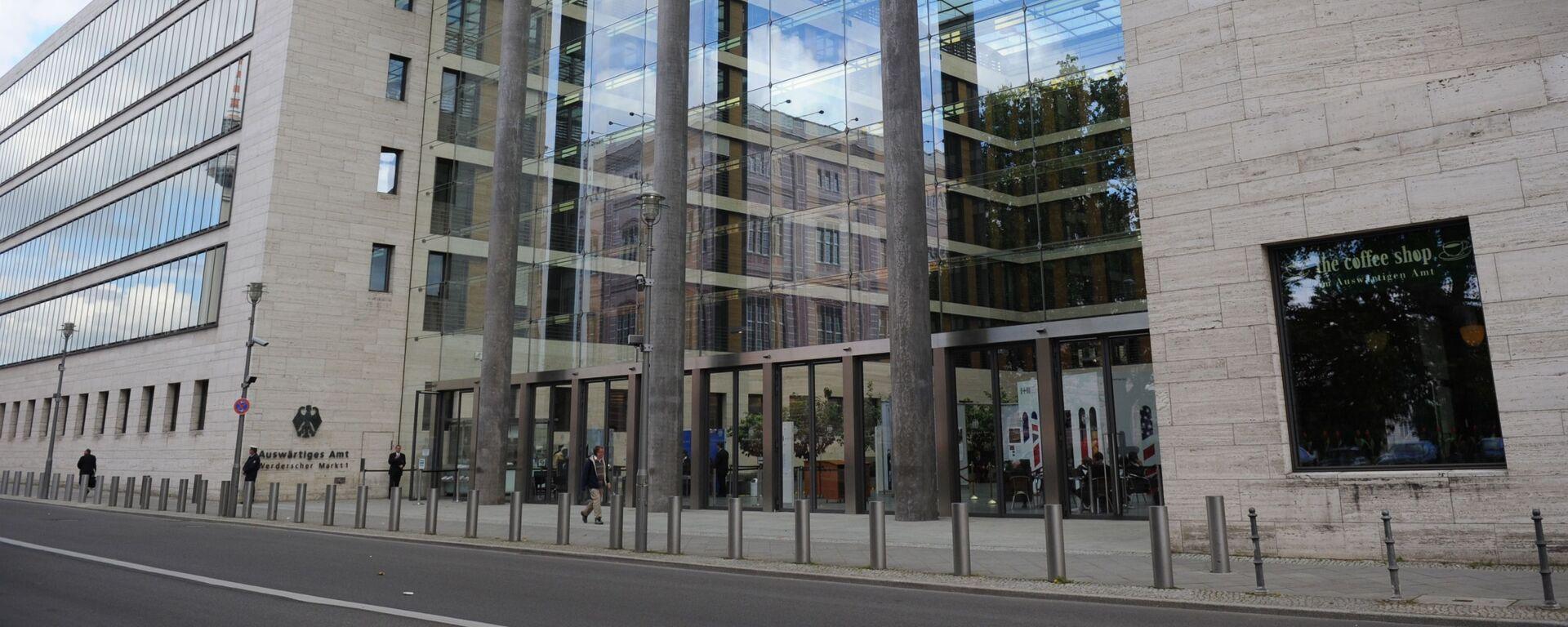 Budynek MSZ Niemiec w Berlinie - Sputnik Polska, 1920, 02.08.2021