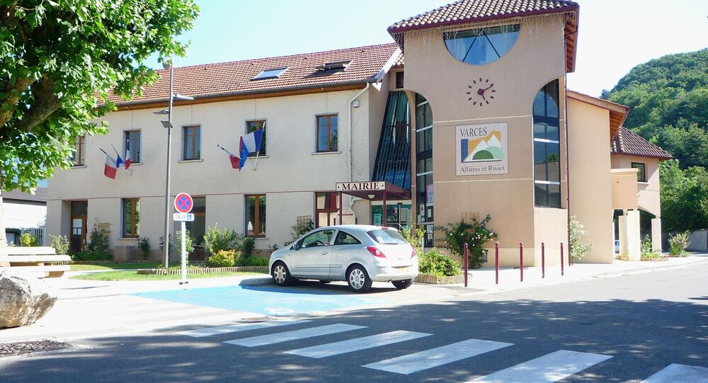 Miasto Varces-Allières-et-Risset we Francji