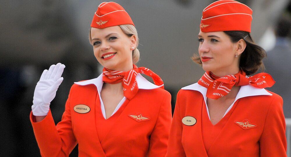 Stewardessa linii Aeroflot