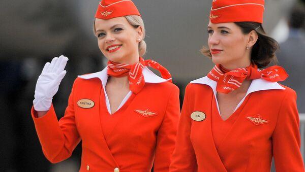 Stewardessa linii Aeroflot - Sputnik Polska