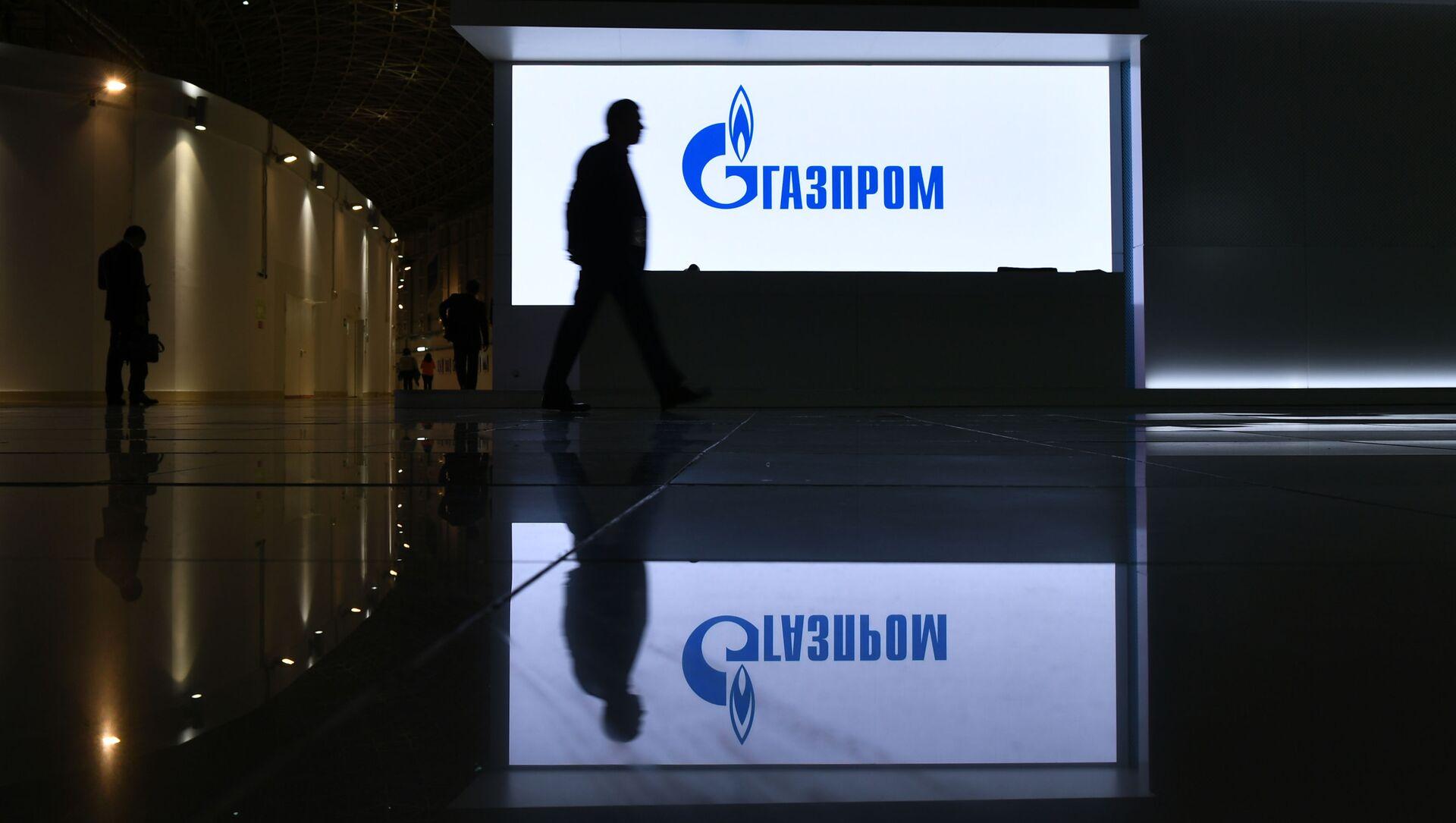 """Stoisko firmy """"Gazprom"""" na wystawie zorganizowanej w ramach Rosyjskiego Forum Inwestycyjnego w Soczi - Sputnik Polska, 1920, 15.02.2021"""