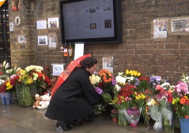 Londyn połączony w żałobie z ofiarami pożaru